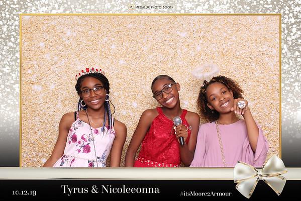 Tyrus & Nicoleeonna Wedding 10-12-19