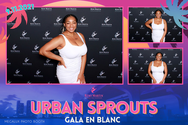 Urban Sprouts Gala En Blanc Sposored by Remy Martin 09-11-21
