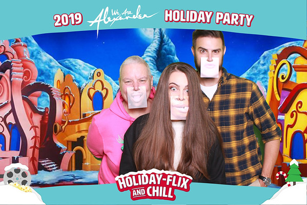 We Are Alexander Holiday Party 12-05-19