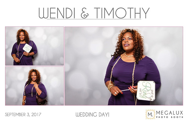 Wendi & Timothy Wedding 09-03-17