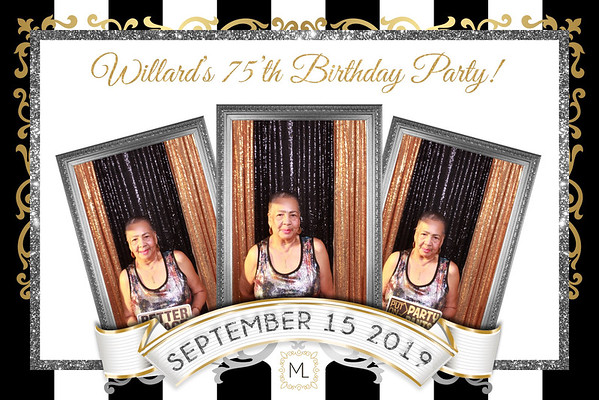 Willard's 75'th Birthday Party 09-14-19