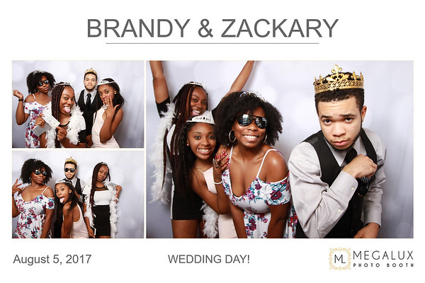 Zackary & Brandy Wedding 08-05-17