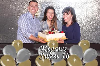 Megan's sweet 16