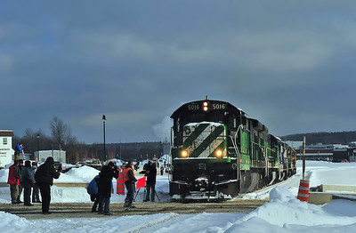 Test Train, Lac-Mégantic Qc