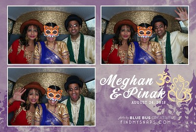 What a fun, beautiful and colorful day! Meghan and Pinak! We hope you had just as much fun on your wedding day as we did snapping this fun pics!   To see more epic shots from this day, visit www.findmysnaps.com/Meghan-Pinak  Want a super cool, interactive, trendy photobus at your next event? Learn more at www.blusbuscreatives.com