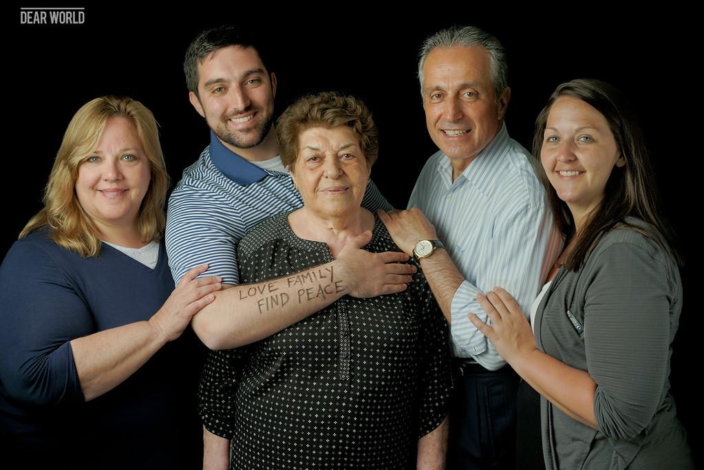 Mehran's family photo