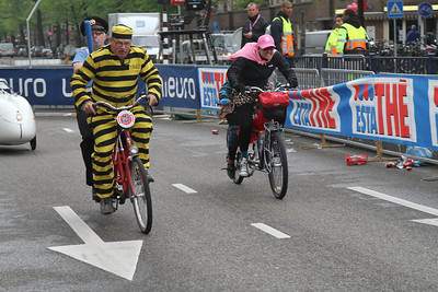 gekke fietsenrace giro amsterdam 2010