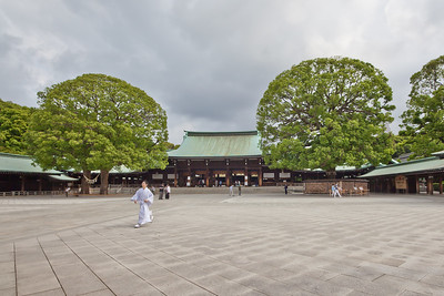 Meiji Shrine in Early Morning