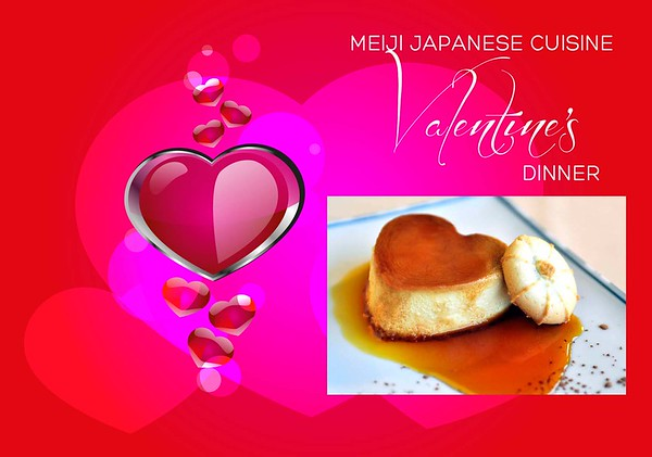 Meiji Valentine's Day Dinner