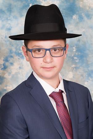 Meir Simcha Kalish Bar Mitzvah Portraits