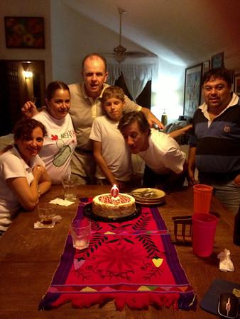 Cumpleaños de Raúl 2013