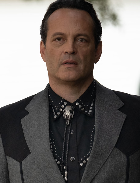 Vince Vaughn wearing the interspecies bolo designed by Ashley Heathcock. Photo by Andrew Boonkrong/Lionsgate Media.