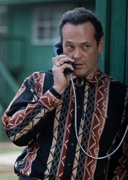 Vince Vaughn sporting questionable bolo length and tapered tips. Photo by Andrew Boonkrong/Lionsgate Media