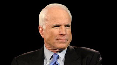 John McCain, Senator of the United States of Arizona, also criticized Mr. Trump's address to Mr. Khan. Photo: MGN Online
