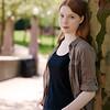 Melanie 19 at the tree