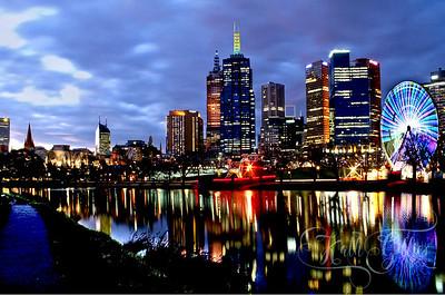 Melbourne ferris wheel