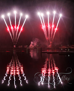 Fireworks Docklands