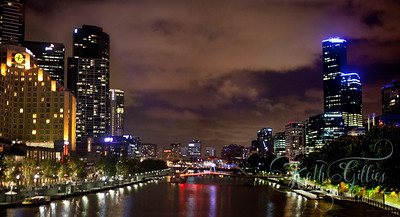 night Melbourne