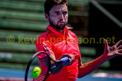 Priceline Kooyong Classic 2017 Simon Gilles v Ivo Karlovic