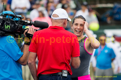 David Gould speaks with Andrea Petkovic
