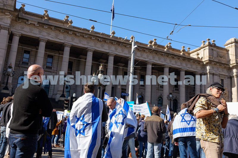 Stand With Israel - Rally For Peace, August 10, 2014