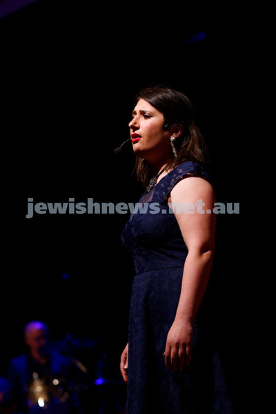 3-5-18 Melbourne Jewish Book Week Launch at Glen Eira Town Hall. Galit Klas. Photo: Peter Haskin
