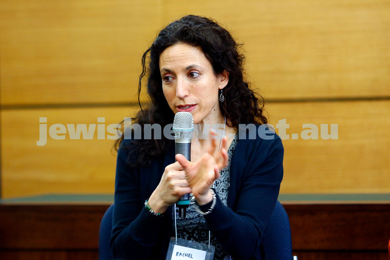 3-5-18 Melbourne Jewish Book Week. St Kilda Town Hall.  Rachel Kadish,  Photo: Peter Haskin