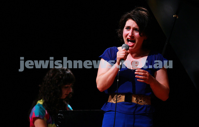10-10-15. Melbourne Jewish Comedy Festival. Gala Opening. Galit Klas.  Photo: Peter Haskin