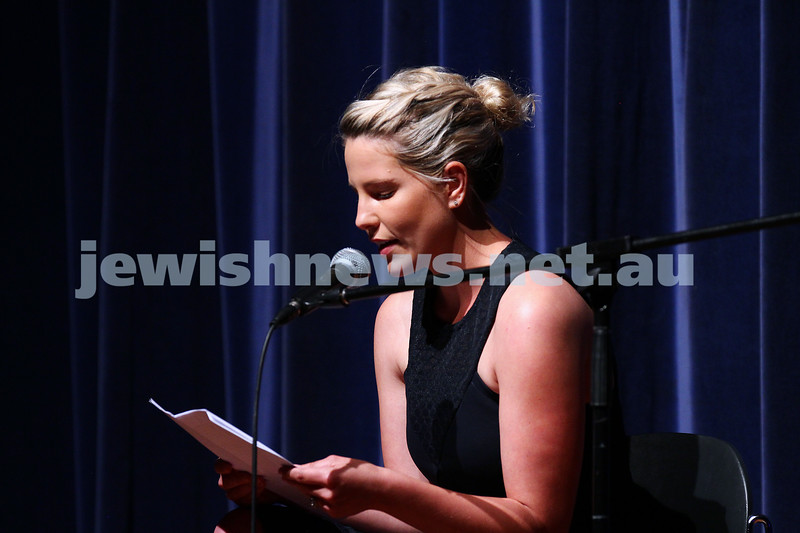 10-10-15. Melbourne Jewish Comedy Festival. Gala Opening.  Summer Land. Photo: Peter Haskin