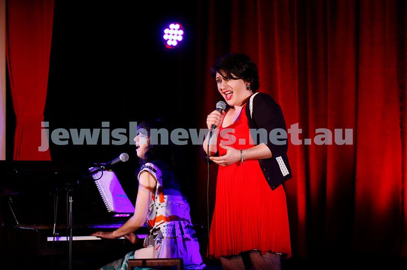 11-9-16. Melbourne Jewish Comedy Festival. MEMO Music Hall, St Kilda. Galit Klass. Photo: Peter Haskin