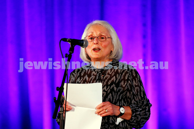 11-9-16. Melbourne Jewish Comedy Festival. MEMO Music Hall, St Kilda. Helen Mizrachi. Photo: Peter Haskin