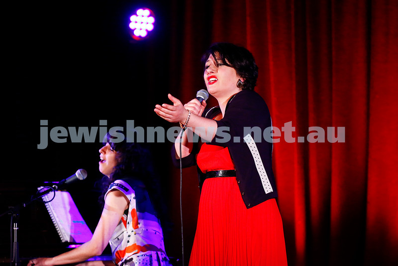 11-9-16. Melbourne Jewish Comedy Festival. MEMO Music Hall, St Kilda. Galit Klass. Photo: Peter Haskin