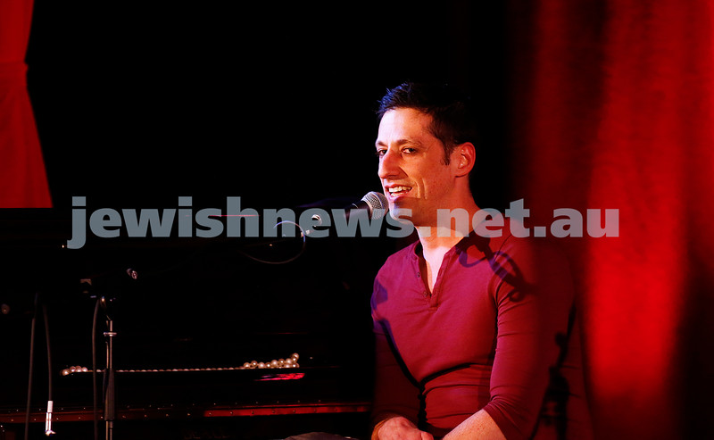 11-9-16. Melbourne Jewish Comedy Festival. MEMO Music Hall, St Kilda.  Josh Levy. Photo: Peter Haskin
