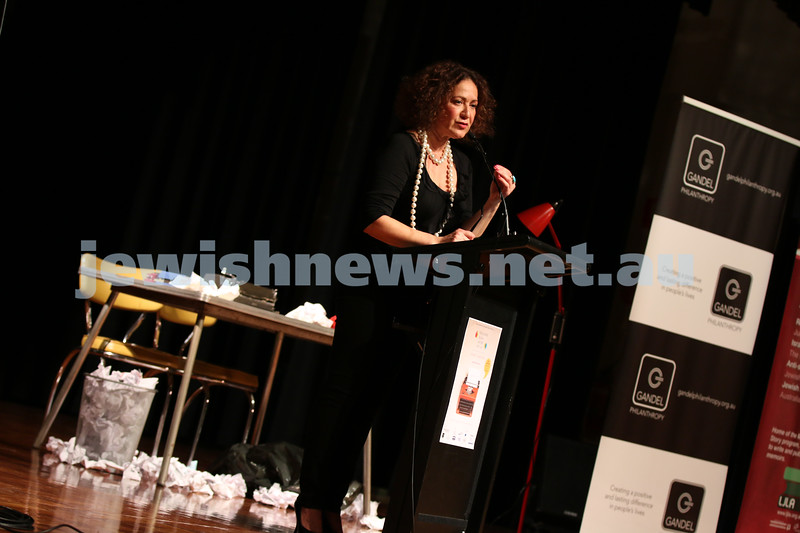 31-5-2014. Melbourne Jewish Writers Festival Gala. Glen Eira Town Hall. Photo: Lochlan Tangas