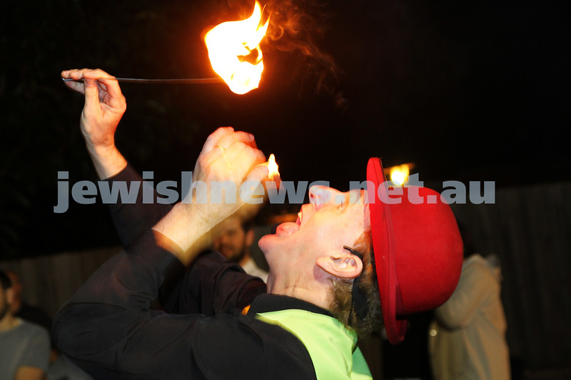 17-5-14. Lag B'omer 2014. Bonfire night at Katanga Shule. Photo: Peter Haskin