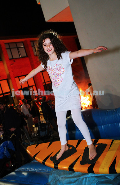 18-5-14. Lag B'omer 2014. Annual Bnai Akiva bonfire party at Mizrachi.  Photo: Peter Haskin