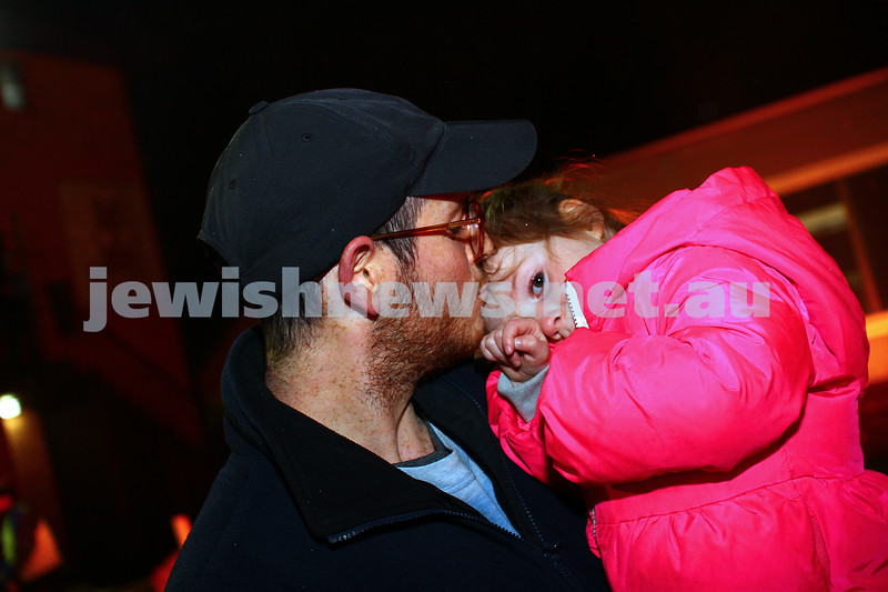 6-5-15. Lag B'omer 2015. Bnai Akiva bon fire at Mizrachi.  Photo: Peter Haskin