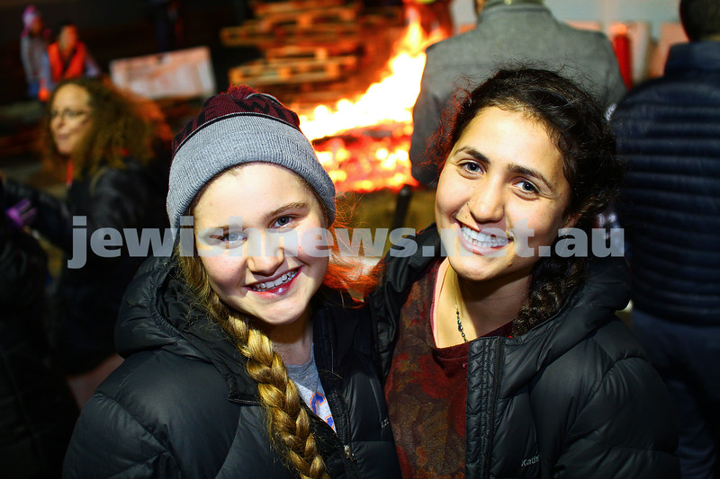 6-5-15. Lag B'omer 2015. Bnai Akiva bon fire at Mizrachi.  Photo: Peter Haskin