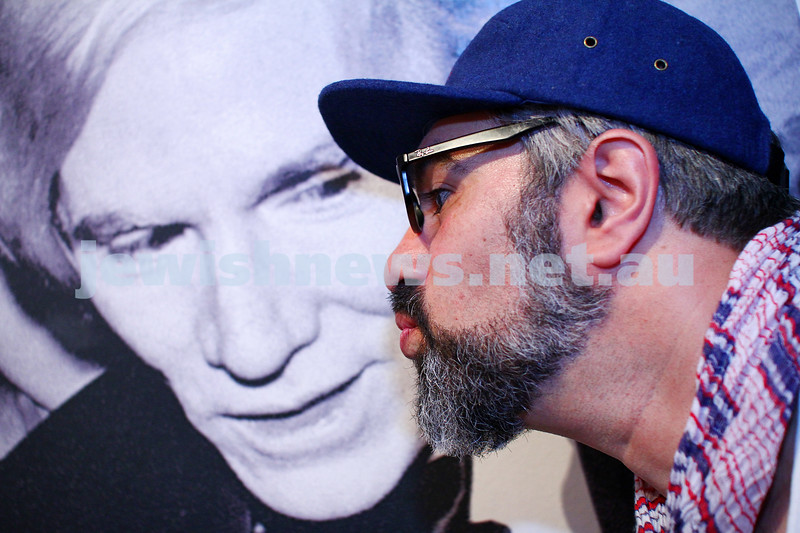 "20-11-14. Jewish Museum. Opening of the Andy Warhol ""Jewish Geniuses"" exhibition. Adrian Elton. photo: peter haskin"