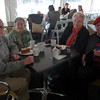 Morning tea time with traveling companions Lynn and John, a great time was had by all