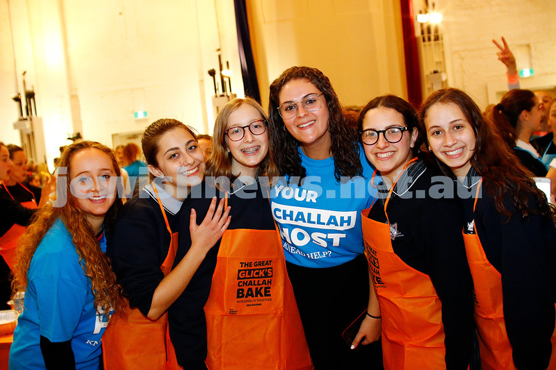 9-11-16. Shabbat Project. Tenn challah bake at St Kilda Town Hall. Photo: Peter Haskin