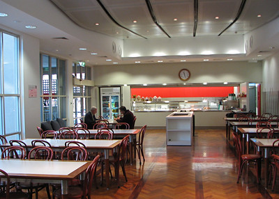Melbourne Business School Cafe