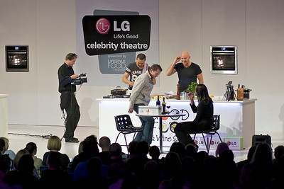 Matt Moran at the Melbourne GoodFood and Wine Festival