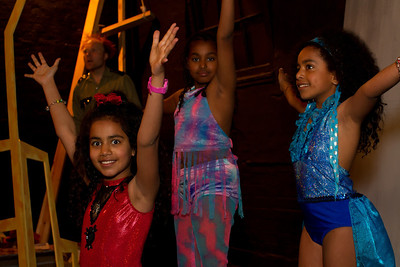 Our young friends, the dancers.