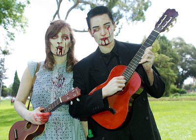Serenading zombies