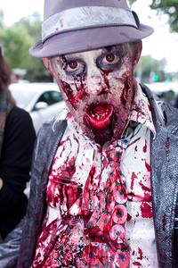 Zombie on Exhibition street