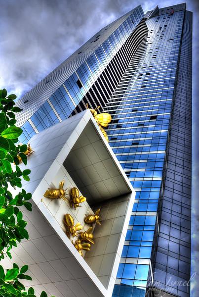 Eureka Tower Bees