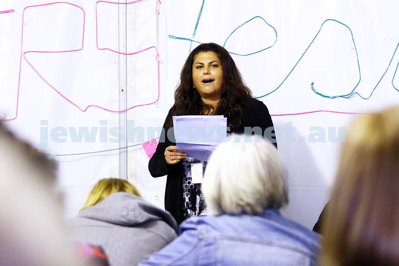 23-5-16. Jewish Writers Festival. Melbourne 2016. Lisa Birman. Photo: Peter Haskin