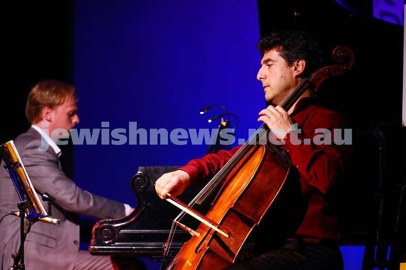 21-5-16. Opening of the Jewish Writers Festival 2016 at Glen Eira Town Hall. Photo: Peter Haskin