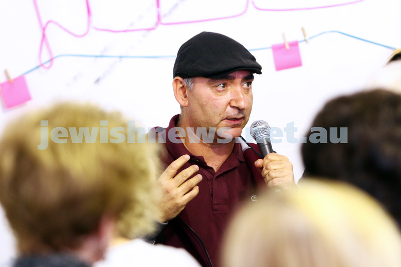 23-5-16. Jewish Writers Festival. Melbourne 2016. Mark Dapin. Photo: Peter Haskin